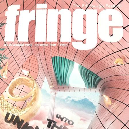 Edinburgh Festival Fringe - photo of 2018 brochure