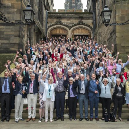 Group photo of the Lothian Birth Cohort in 2018